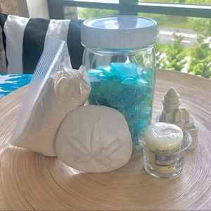 3/$30 BEACH tablescaping decor set midnight